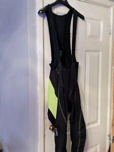 Gore mens cycling bib tights. Size med. VGC