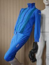 adidas Trainingsanzug Sportanzug blau 80er Rarität TRUE VINTAGE tracksuit S 42