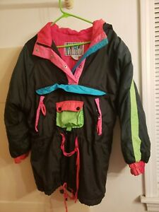East West Colorful Puffer Windbreaker Small
