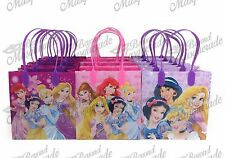 Disney Princesses Party Favor Supplies Goody Loot Gift Bags [12ct]