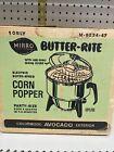 RARE NOS VINTAGE MIRRO Aluminum Electric Corn Popcorn Popper In Avocado