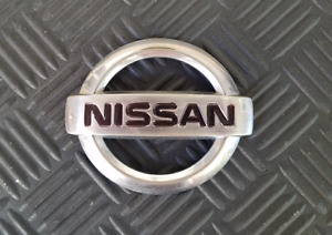 OEM Nissan Body/Dash Emblem. (slight curve) 8.2cm
