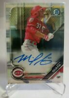 2019 BOWMAN CHROME #CPA-MS MIKE SIANI AUTOGRAPHED CINCINNATI REDS CARD