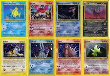 Pokemon cards Neo Revelation holo /shining Ho-Oh Entei Raikou Suicune Celebi etc