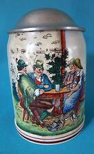 Une chope a bière en céramique    50 cl