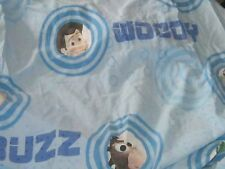 Toy Story Twin Sheet set blue novelty includes pillowcases FAIR condition buzz