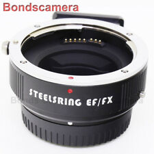 Steelsring EF-FX auto focus AF Canon EOS Lens to Fujifilm X mount adapter X-Pro2