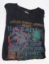 Tommy Hilfiger NYC Denim Men's Medium Shirt Ludlow Street Lounge Rock Nite