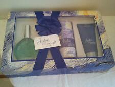 Vintage Jontue Moonlight By Revlon Gift Set 3PCS Women's Perfume Fragrance Rare