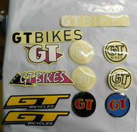 New GT BMX Sticker Pack Old Mid School Freestyle Race Coin
