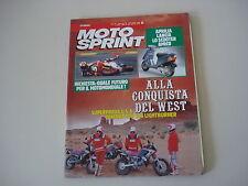 MOTOSPRINT 23/1990 YAMAHA TDR 125/GUZZI CALIFORNIA III 1000/KAWASAKI VN 1500 SE