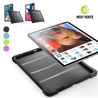For iPad Pro 11 /12.9 2018 Poetic[TurtleSkin]Grip Protective Silicone Case Cover