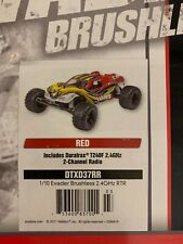 DURATRAX EVADER Brushless RTR 1/10 2WD Electric Stadium Truck RED #DTXD37RR