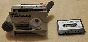 Home alone 2 Tiger Deluxe Talkboy Recorder + Cassette Tape WORKS GREAT