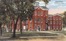 Oskaloosa Iowa~Penn College~Little Boy on Lawn~Doors Open~1910 Postcard