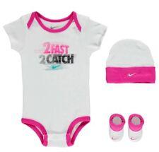 269476ab9 Nike Bebé Niña Niñas Set Body Gorra Calcetines Zapatos 0-6 Meses Blanco