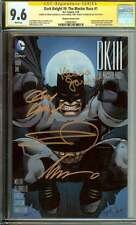 DARK KNIGHT III: THE MASTER RACE #1 CGC 9.6 WHITE PAGES