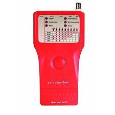 TESTER ETHERNET PER RJ11/45,USB AB, BNC, IEEE1394  45.TE020