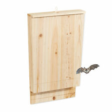 Fledermauskasten groß, Fledermaushaus Fledermausbox, Fledermausunterschlupf Holz