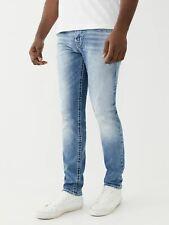 TRUE RELIGION Men's Light Blue Rocco Flap Big T Skinny Jeans W29 RRP179 BNWT