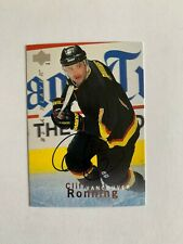 1995-96 Be A Player Autographs #S91 Cliff Ronning - Vancouver Canucks