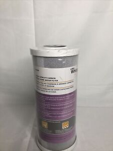 Whirlpool WHA4BF5 Large Capacity Carbon Whole Home Water Filter Small Crack