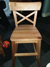 Ikea Ingolf Junior Chair | Light Pine.Flat Packed