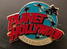 Planet Hollywood Pin / Badge San Francisco Classic Light Blue Globe Logo small