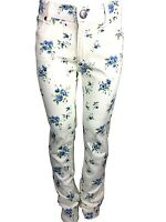 Girls Twill Super Strechy Ex Zara Kids Skinny Jeans Christmas Trouser Age 2-10Y
