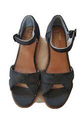 Toms Wedge Shoes Women's size 9.5 / Jean blue