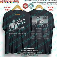 T-shirt NIALL HORAN CAPALDI FLETCHER MAISIE PETERS NICE TO MEET YA TOUR 2020