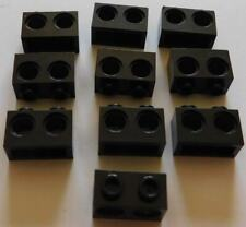 LEGO TECHNIC RED STUDLESS BEAM 15 HOLES 1X16 BAR LOT of 10 BRICK BEAM CREATOR