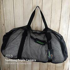 Akona Adventure Gear Scuba Dive Snorkeling Deluxe Black Mesh Gear Bag
