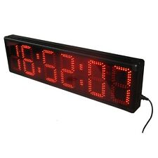 8'' Outdoor LED Wall Clock Sport Timing Digital Clock For Marathon Event