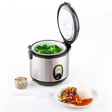 400W ELECTRIC RICE COOKER AUTOMATIC STEAMER 1 LITRE NON-STICK WARM COOKING POT