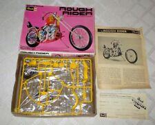 1976-REVELL- MOTORCYCLE CHOPPER -ROUGH RIDER MODEL KIT-BIG-1/12TH-W BOX-UN-BUILT