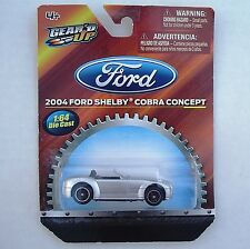 2004 Ford Shelby Corbra Concept. Gear'd Up. 1/64 Diecast. Mint in Package!