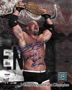 Bill Goldberg Signed 8x10 Photo PSA/DNA COA Autographed WWE World Champion