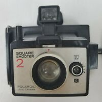 Vintage Polaroid Instant Land Camera Square Shooter 2 with Black Strap