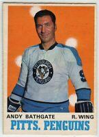 1970-71 O-Pee-Chee #207 Andy Bathgate EX-NM - SET BREAK (112919-23)