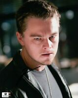 Leonardo DiCaprio Hand Signed Autographed 8x10 Photo Sexy Eyes WOLF GA 742678