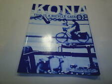 kona bicycle catalogue 2008 mint with clothing & P&A insert Stinky, Hei Hei ETC