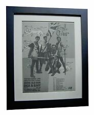TENPOLE TUDOR+Eddie+LP+Swords+POSTER+AD+ORIGINAL 1981+FRAMED+EXPRESS GLOBAL SHIP