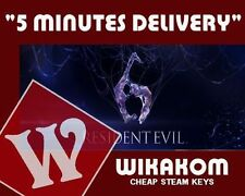 Resident Evil 6 Steam Gift Game For PC Region FREE Fast Delivery
