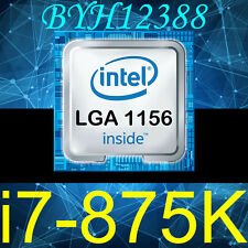 Intel Core i7-875K Processor CPU LGA1156 95W 8M Cache 2.93GHZ Processor CPU