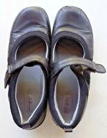 Easy Spirit Mary Jane Shoes Black Leather Walking Comfort Size 7.5W