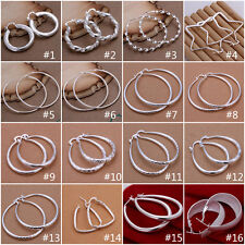Wholesale New Fashion Womens Jewellery 925Silver Fashion  Earrings gifts