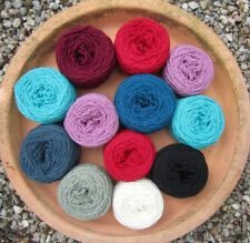 Mixed BALLS CRAFT PACK. DK MIX 100% WOOL.200g. knitting/felting/craft yarn