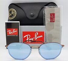 Rayban Sunglasses RB3579N 90351U 58mm Blaze Hexagonal Round Violet 3579 blue hex