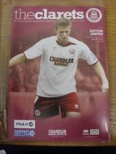 07/01/2012 Chelmsford City v Sutton United  . Any faults with this item should a